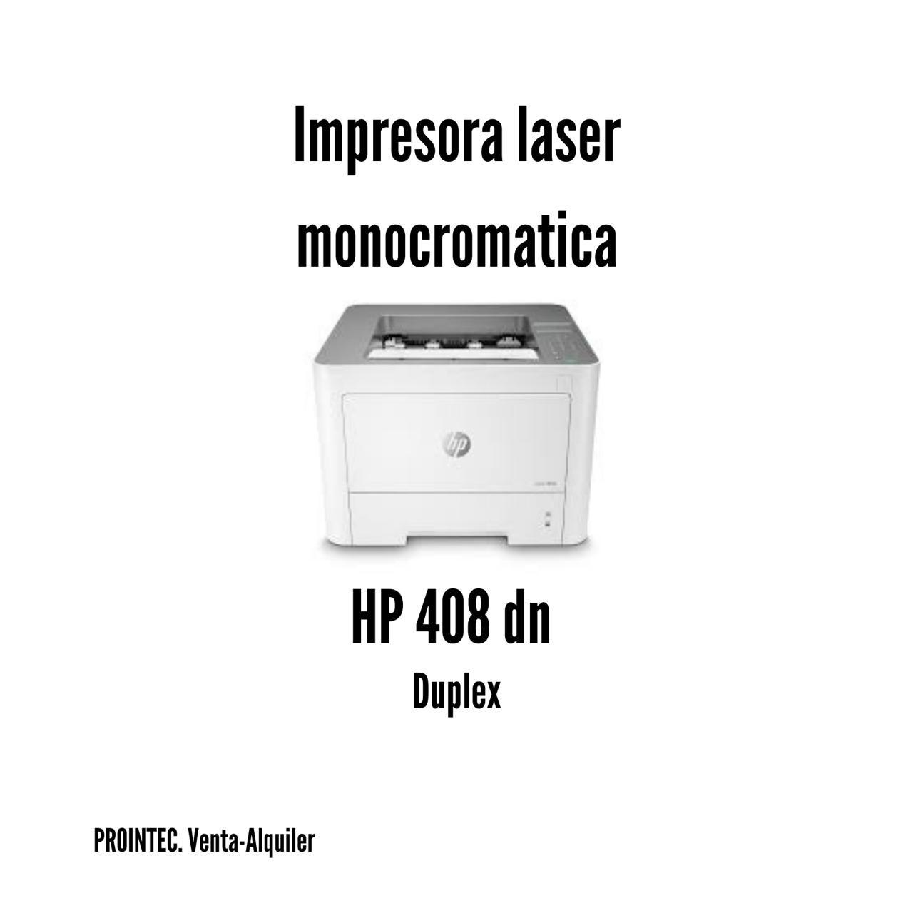 IMPRESORA LASER HP408 DN  LASERJET MONOCROMO