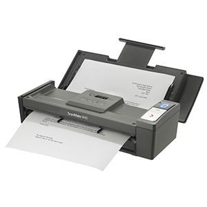 Kodak i940 portable alimentacion USB escanea tarjetas de credito, tarjetas plasticas