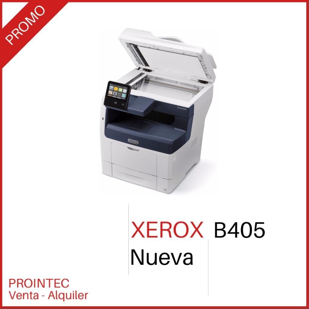 Multifunción Xerox VersaLink B405 cristal oficio NUEVA