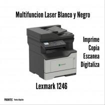 MULTIFUNCION LEXMARK XM1246 B/N DUPLEX