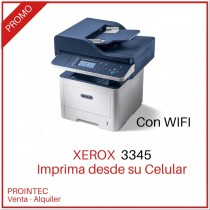 XEROX 3345 MULTIFUNCION  BYN, CRISTAL A4 WIFI FULL