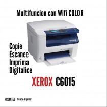 IMPRESORA MULTIFUNCION LASER COLOR XEROX 6015 USADA WI FI