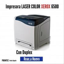 IMPRESORA LASER COLOR XEROX 6500 DUPLEX USADA