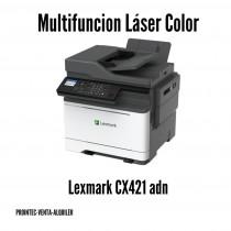 MULTIFUNCION LEXMARK LASER COLOR A 4 CX421 ADN