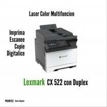 MULTIFUNCION LASER COLOR LEXMARK CX522