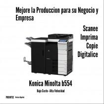 KONICA MINOLTA B554 A3 MONOCROMATICA  USADA