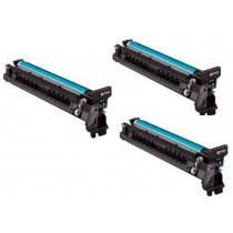 kit Promocional 3 Cilindros Color Minolta C224/C281/C284/C454/C554