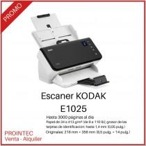 SCANNER KODAK E1025 CONEXION USB SENCILLO EFICAZ REEMPLAZO DEL I1150
