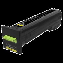 Toner Original Lexmark CS820/ CX825 Yellow