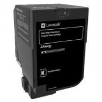 Toner Original Lexmark CX725 Negro       Rinde 25.000 paginas