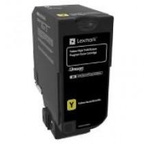 Toner Original Lexmark CX725 Yellow     Rinde 16.000 paginas