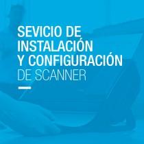 Servicio de Instalación y Configuración de Scanner