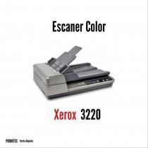 SCANNER XEROX DOCUMATE 3220 CAMA PLANA DUPLEX