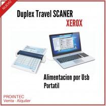 SCANNER XEROX TRAVEL PORTATIL DUPLEX USB