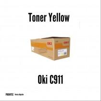 Toner Original Oki C911 Yellow   Rinde 24.000 paginas