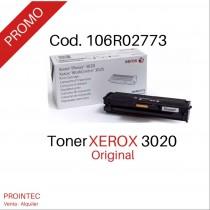 Toner Xerox 3020   Rinde 1.500 paginas
