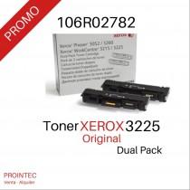 Toner Xerox 3225 / 3260 Dual Pack  Rinde 6.000 paginas