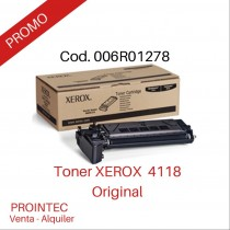 Toner Original Xerox 4118 P/X