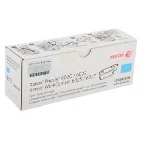 Toner Xerox Workcenter 6027 Cyan   Rinde 1000 paginas