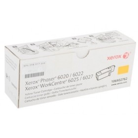 Toner Xerox Workcenter 6027 Yellow   Rinde 1000 paginas